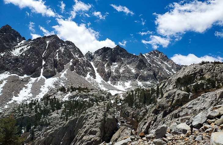 Eastern Sierra Mountains