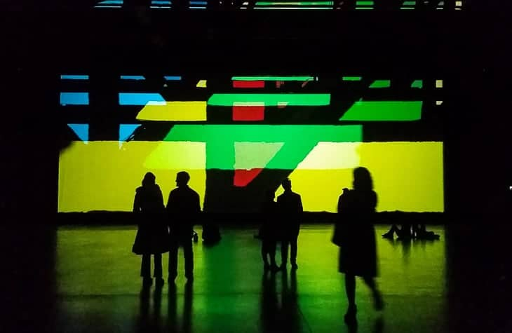 Olafur Eliasson at MAF – A site specific installation