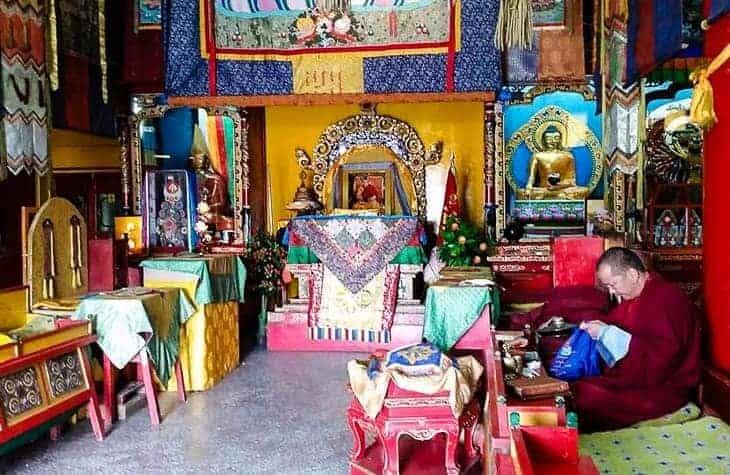 Gandantegchinlen Monastery Ulan Bator Mongolia